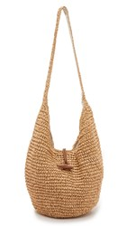 Hat Attack Toggle Sling Bag Natural