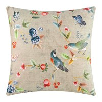 Pip Studio Birdy Cushion 60X60cm Khaki