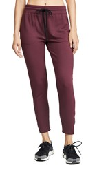 Beyond Yoga By Request Midi Sweatpants Team Burgundy