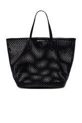 Seafolly Double Dot Tote Black