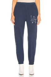 Adaptation Embroidered Sweatpant In Blue