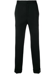 Y Project Straight Leg Trousers Black