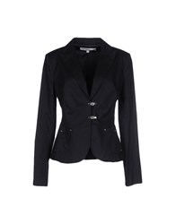 Cristinaeffe Suits And Jackets Blazers Women Dark Blue