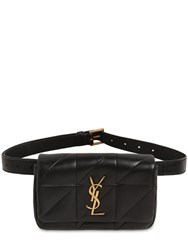 Saint Laurent Jamie Quilted Leather Belt Bag Noir
