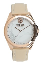 Versus By Versace 'S Elmont Analog Quartz Watch 40Mm Rosegold