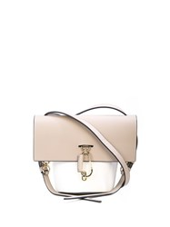 Zac Posen Mini Belay Crossbody Bag Brown