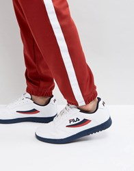 Fila Vintage Fx 100 Low Trainers White