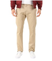Huf Selvedge Chino Pants Khaki Men's Casual Pants