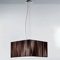 Axo Light Clavius Single Tier Pendant Black Brown Ivory