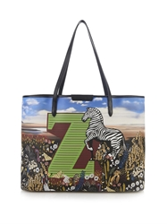 Mary Katrantzou Z Melina Coated Canvas Tote