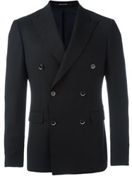 Dinner Double Breasted Blazer Black