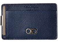 Salvatore Ferragamo Ten Forty One Card Holder 669806 Ultra Marine Credit Card Wallet Blue