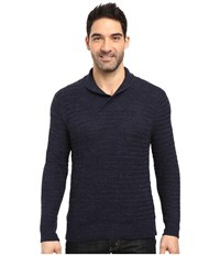 Tommy Bahama Cape Escape Pullover Shawl Sweater Blue Note Men's Sweater Navy