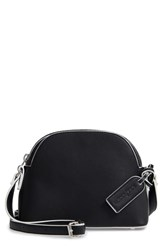 Sole Society Faux Leather Crossbody Bag Black