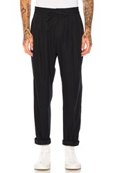 Maiden Noir Baggy Trousers Navy