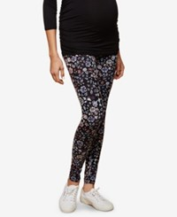Motherhood Maternity Printed Leggings Multi Floral Print