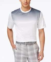Greg Norman For Tasso Elba Men's Ombre T Shirt Only At Macys Bright White