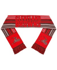Forever Collectibles Cleveland Browns Glitter Stripe Scarf