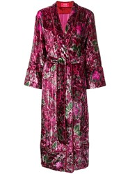F.R.S For Restless Sleepers Belted Kimono Coat Pink