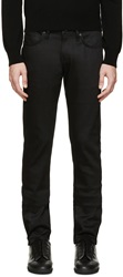 Naked And Famous Black Stretch Super Skinny Guy Jeans
