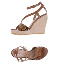 Dibrera By Paolo Zanoli Sandals Brown