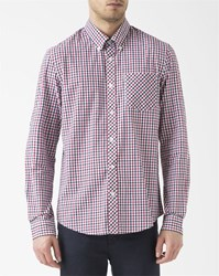 Ben Sherman Green And Blue House Checked Shirt