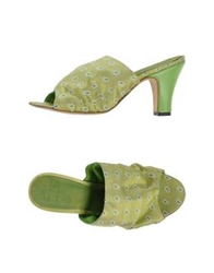 Pantofola D'oro Sandals Acid Green