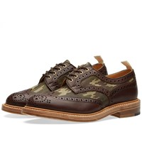 Trickers End. X Tricker's Camo Insert Bowood Brogue Brown