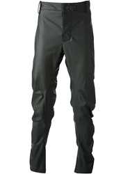 Lost And Found Coated Trousers Black