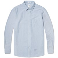 Bedwin And The Heartbreakers Brian Button Down Oxford Shirt Sax