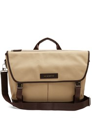 Want Les Essentiels Jackson Cotton Canvas Messenger Bag Brown