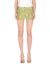 Pin Up Stars Trousers Shorts Women Light Green