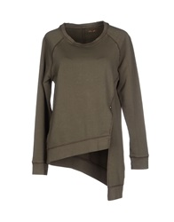 40Weft Sweatshirts Military Green
