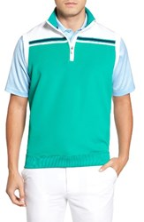 Bobby Jones Men's Xh2o Stretch Quarter Zip Golf Vest