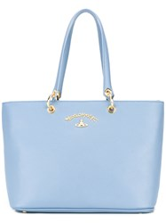 Vivienne Westwood Anglomania Shopper Tote Blue