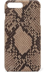 The Case Factory Python Effect Leather Iphone 7 Plus Snake Print