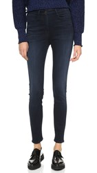 3X1 W3 High Rise Channel Seam Skinny Jeans Charlie