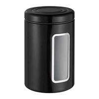 Wesco Classic Line Canister With Window 2L Black