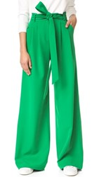 Milly Cady Natalie Pants Emerald
