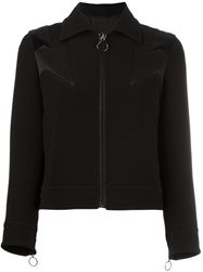Neil Barrett Geometric Panel Insert Jacket Black