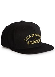 Crooks And Castles Champagne Black Twill Cap