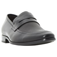 Dune Recruit Loafers Black