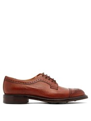 Cheaney Tenterden Grained Leather Shoes Burgundy