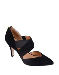 Corso Como Collette Leather Pointed Toe Pumps Taupe