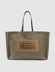 Maison Martin Margiela Outline Tote Bag Green