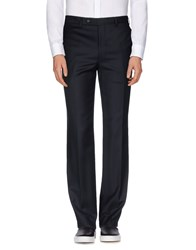 Canali Trousers Casual Trousers Men Dark Blue