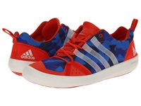 Adidas Outdoor Climacool Boat Lace Graphic Bold Orange Chalk White Col. Navy Men's Shoes Blue