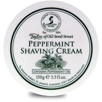 Taylor Of Old Bond Street Shaving Cream Bowl Peppermint 150G