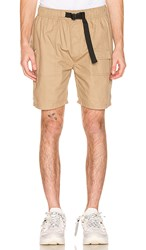 Publish Guy Shorts In Tan.