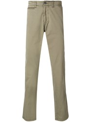 Napapijri Straight Leg Chinos Green